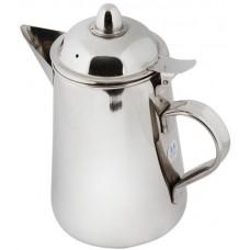 دلة القهوة من المنيوم ، فضي - مقاس 1.6 لتر